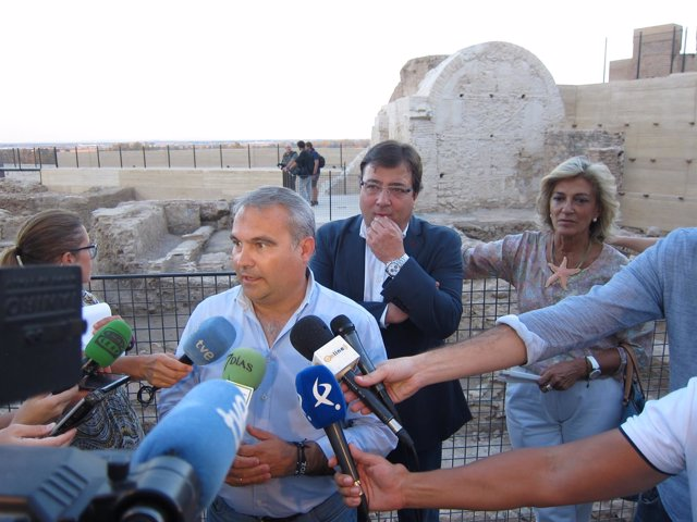 La Puerta Del Capitel De La Alcazaba De Badajoz Se Recuperará Gracias A 250.000