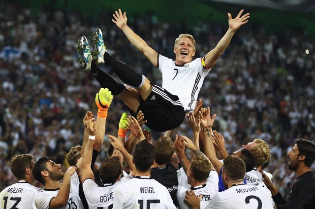 Alemania despide a Schweinsteiger