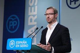 """Maroto dice que la """"única posibilidad"""" de investidura es que el PSOE se abstenga y no ve un acuerdo con el PNV"""