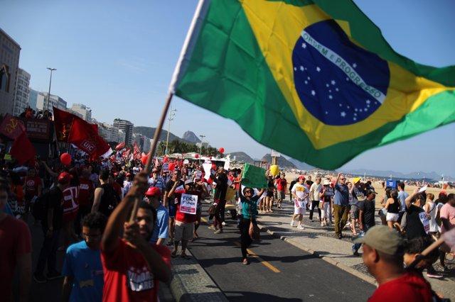 Protestas en Brasil por el 'impeachment'