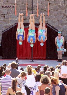 Nota De Prensa Y Fotos Actos Viernes Festival Internacional De Circo De Camargo
