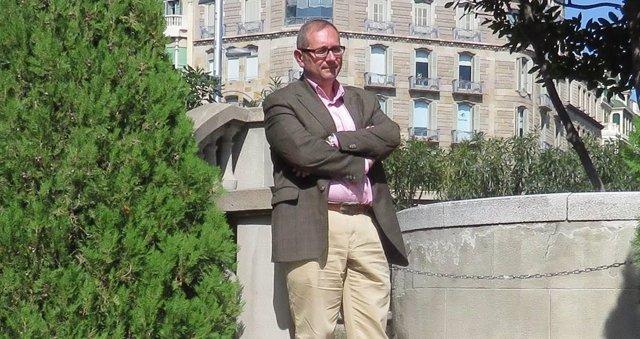 El presidente de SCC, Rafael Arenas