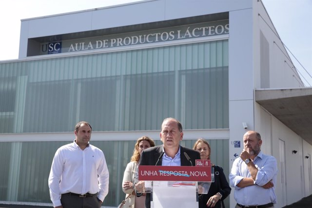 Xoaquín Fernández Leiceaga (PSdeG) en Lugo