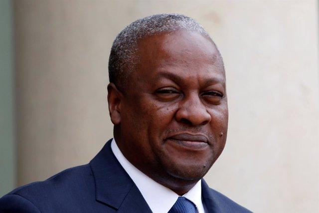 John Mahama, presidente de Ghana