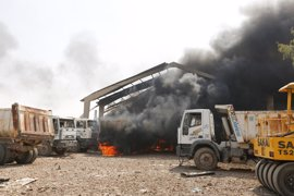 Al menos cuatro muertos en Bagdad tras un incendio en un depósito de armas