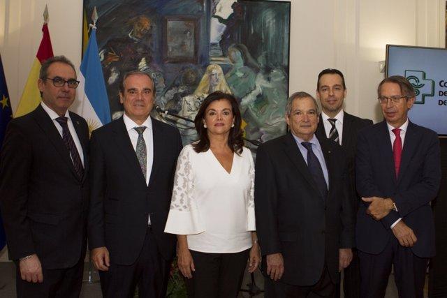 Encuentro de los farmacéuticos en la Embajada de España en Buenos Aires