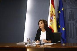 Santamaría pide responsabilidad a Sánchez porque PP y PSOE están llamados a entenderse en situaciones excepcionales