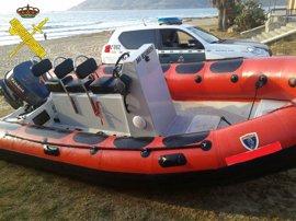 Tres detenidos tras un alijo de 270 kilos hachís en la costa de Algeciras