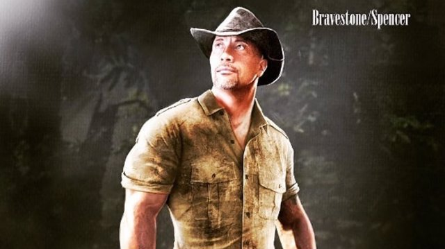 Concept Art de Dwayne Johnson en la secuela de 'Jumanji