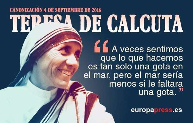 10 Frases De La Madre Teresa De Calcuta