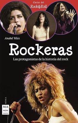 Portada del libro 'Rockeras' de Anabel Vélez