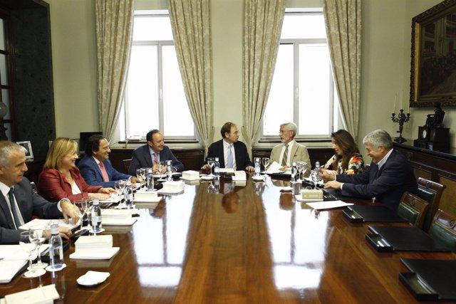Reunión de la Mesa del Senado de 4 de agosto