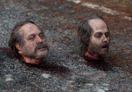 The Walking Dead: Norman Reedus tiene la cabeza del Johnny Depp zombie