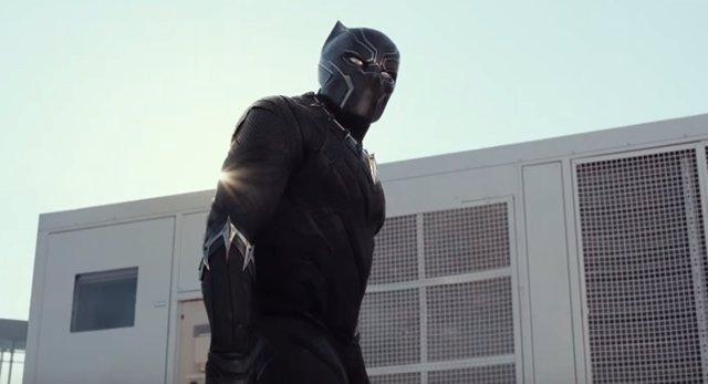 Black Panther en Capitán América Civil War