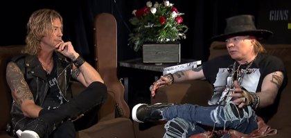 Axl Rose llamó por teléfono a Slash para hacer las paces y reunir a Guns n' Roses
