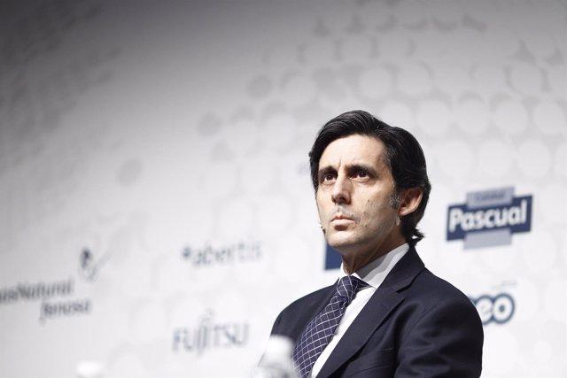 El presidente ejecutivo de Telefónica, José María Álvarez-Pallete
