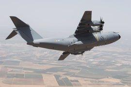El avión A400M para España realiza su primer vuelo y será entregado en unas semanas