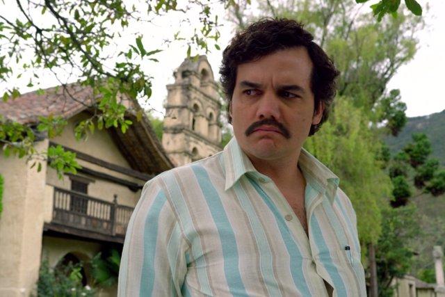 Wagner Moura es Pablo Escobar en Narcos