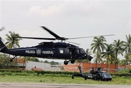 Mueren cuatro personas tras ser derribado un helicóptero de la Policía en México