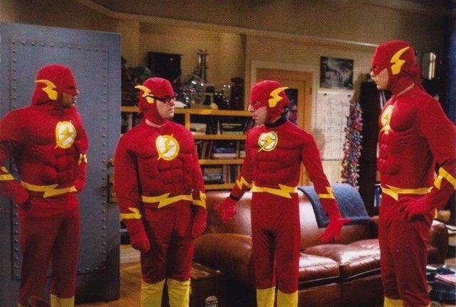 Resultado de imagen de big bang theory superhero costumes