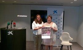 """Saray propone """"teñir de rosa"""" Navarra para concienciar sobre el cáncer de mama"""