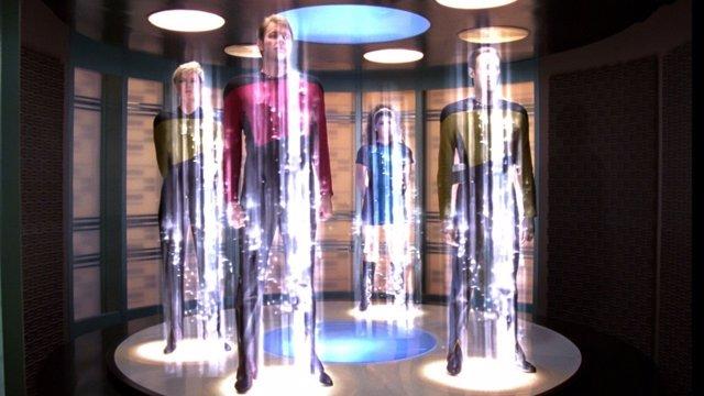 Teletransporte en Star Trek