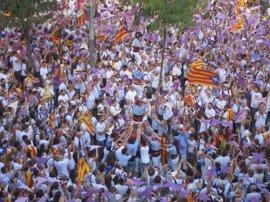 La Diada empezará con un acto de ERC-CUP-Podem antes del evento oficial y la manifestación