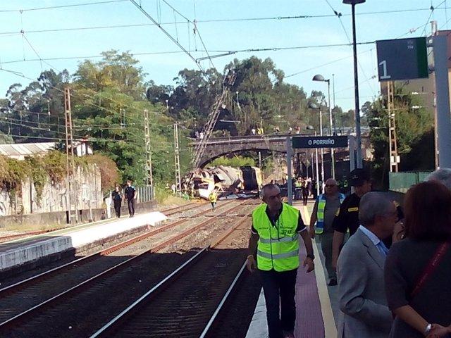 Accidente de tren de O Porriño, Pontevedra