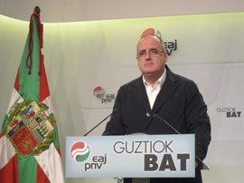 """Egibar afirma que el objetivo del PNV es """"tener un estado propio"""" pero cree que """"no se va a lograr en cuatro años"""""""