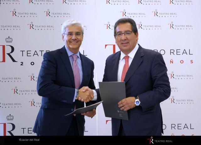 Fundación Cajasol y Teatro Real de Madrid unen fuerzas