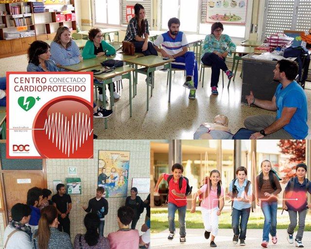 B Safe Lleva La Cardioprotección A 100.000 Escolares Españoles
