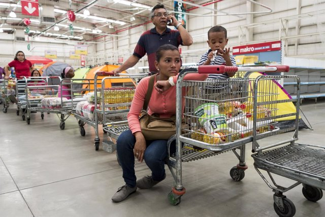 Crisis de alimentos en Venezuela
