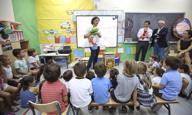 Imagen de la campaña dirigida a los escolares