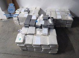 La Policía interviene 535 kilos de cocaína y detiene a 17 personas a partir de un aviso ciudadano por email