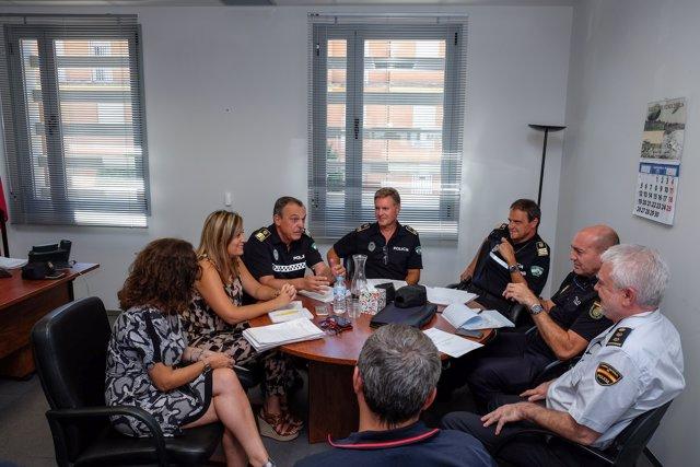 Junta Local de Seguridad del Distrito Norte, en Sevilla.
