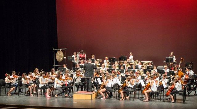 Orquesta Infantil de Almería.