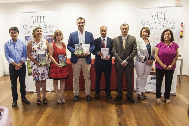 Premios del VIII Certamen de Novela Ciudad de Almería.