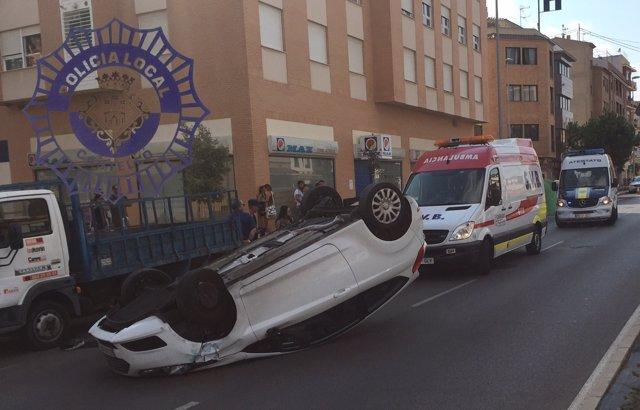 Accidente en Castellón