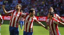 El Sporting sufre para ganar al Leganés y se mantiene invicto