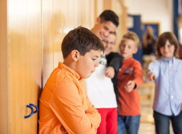 Acoso, niño, colegio, bullying