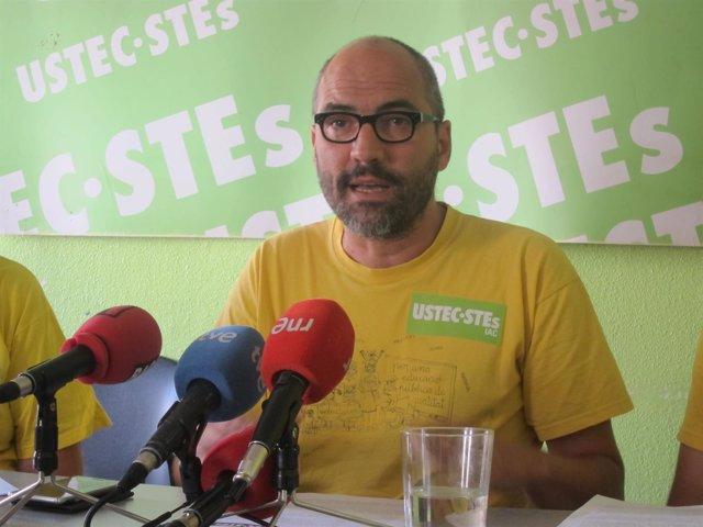El portavoz de Ustec·Stes Ramon Font