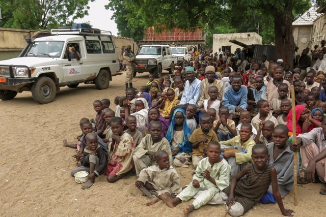 Desplazados en el estado de Borno (Nigeria)