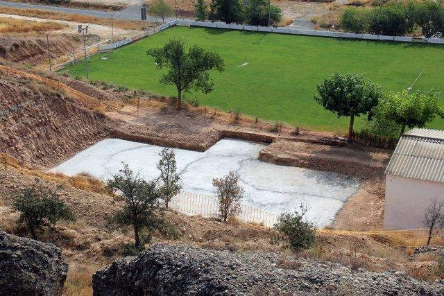 Ayuntamiento y DPH inician las obras de construcción del depósito municipal