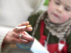 'Tolerancia cero' para el que fuma cerca de niños