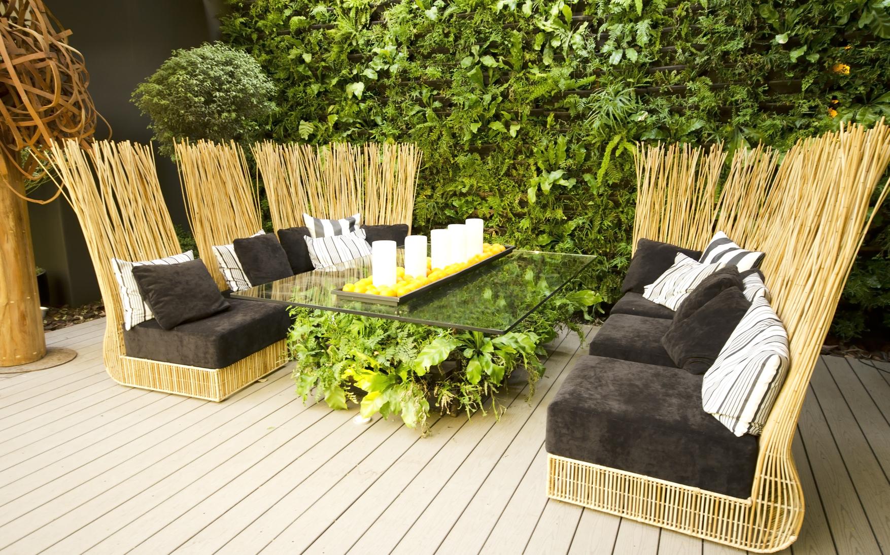 Excepcional Terrazas Zen Foto - Ideas de Decoración de Interiores ...