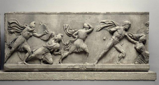 Pieza del British Museum cedida a Obra Social laCaixa para exposición.
