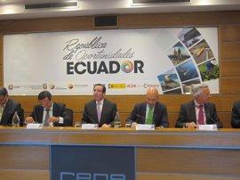 España se compromete a impulsar la firma este año del acuerdo comercial entre la UE y Ecuador
