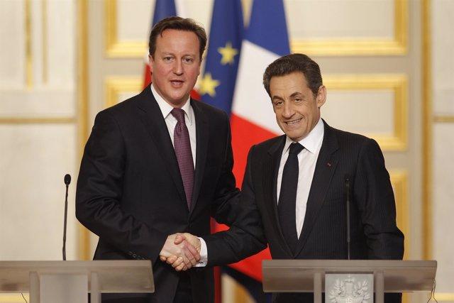 David Cameron, Y Nicolas Sarkozy