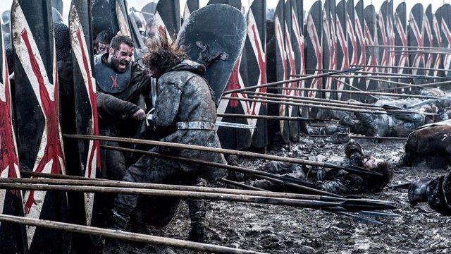 Escena de La Batalla de los Bastardos de Juego de tronos