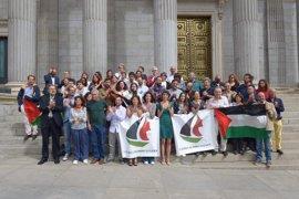 Una diputada de Unidos Podemos, en la Flotilla de Mujeres para romper el bloqueo de Gaza